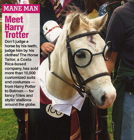 Show Horse Gallery - Harry Potter Costume