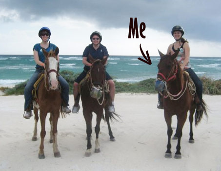 My Mexican Caribbean Cruise Show Horse Gallery A