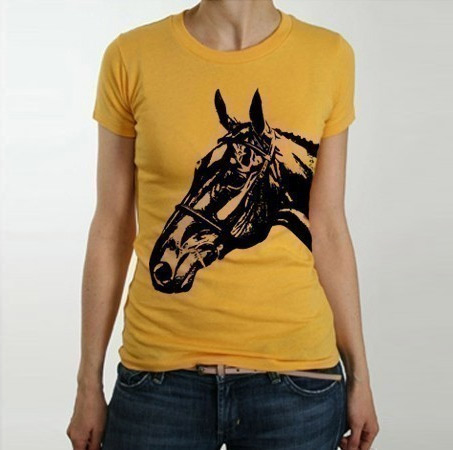 Show Horse Gallery - Horse Head Graphic Tee