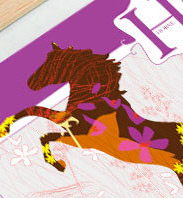 JHill Design - H is for Horses