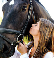 Jillian Michaels likes Horses? Who Knew…