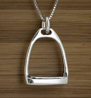 Little Stirrup Silver Pendant