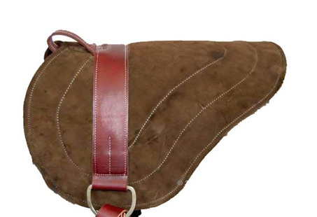 Show Horse Gallery - MacPherson Leather  Bareback Pad