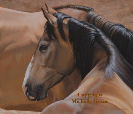 Show Horse Gallery - Michelle Grant Art
