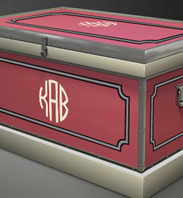 Custom Oakcroft Tack Trunk