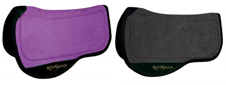 "Show Horse Gallery - Reinsman Micro Suede ""Tacky Too"" Trail Pad"