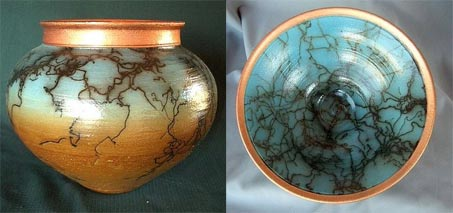Show Horse Gallery - Rob Drexel Horsehair Pottery
