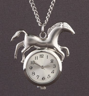Time for Horsing Around Necklace